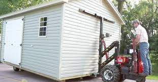 Mule 4 Shed Mover by How To Prep Your Backyard For Shed Delivery