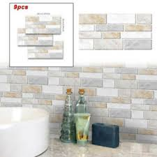 3d mosaik wandaufkleber fliesen bad küche dekor wasserdicht