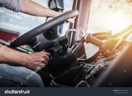 100 Semi Truck Interior Euro Driving Modern Stock Photo Edit Now