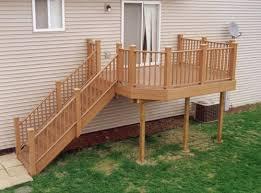 10 x 12 deck w custom railings at menards dream home pinterest