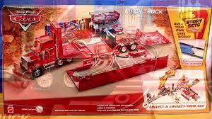 100 Mack Truck Playset Disney Cars Pixar With Radiator Springs Lightning