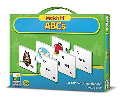 Learning Journey Match It ABC