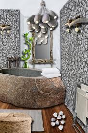 ƹ ӂ ʒ on dé la salle de bain avec des galets ƹ ӂ ʒ salle de