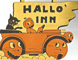 Vintage Halloween Collector Weeny Witch by Vintage Halloween Dennison Die Cut Black Cat Jol Jack