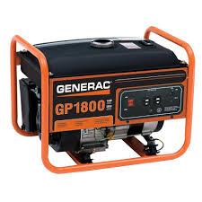 Generac 1 800 Watt Gasoline Powered Portable Generator 5981 The