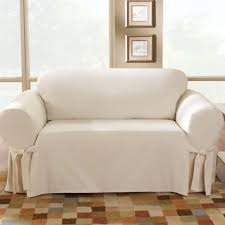 Bed Bath And Beyond Sure Fit Slipcovers by Buy Sure Fit Cotton Sofa Slipcover Sofa Slipcovers From Bed Bath