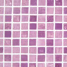 Violet Mosaic Tile Self Adhesive Wallpapers