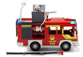 Fire Engine With Lights & Sound By Playmobil | Race To The Scene And ... Bruder Man Fire Engine With Water Pump Light And Sound The How Engines Work Quotecom Buy Memtes Truck Toy Vehicle Building Block Light Sound Brio Set 33542 Wooden Railway Great Bruderscania Rseries Fire Engine With Water Pump Svg Attic Blog The Alarm Firetruck Treat Bags Courtney Play For Boy Water Pump Function Lights Siren Free Effects Youtube My Home Town 30383 Fighting Magic Mini Car Learning Funny Toys Ladder Hose Electric Brigade Amazoncom Daron Fdny Games