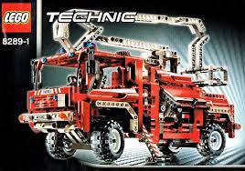 Summary -> Amazoncom Lego Technic 8289 Fire Truck Toys Amp Games