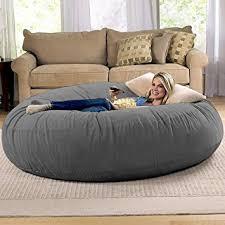 Jaxx Sac Bean Bag Chair by Amazon Com Jaxx 6 Foot Cocoon Large Bean Bag Chair For Adults