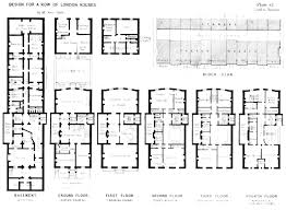 100 Georgian Terrace House Terraced House In Belgravia London Plans