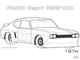Full Size Of Coloring Pageford Pages 1974 Capri Rs3100 Page Large Thumbnail