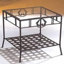 canapé en fer forgé bout de canapé en fer forgé 50 x 50 cm amazon fr cuisine maison