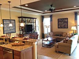 Room Ideas Centerfieldbarcom Small Kitchen Diner Living Open Plan And Can Try This Space Out For Two Level Countert