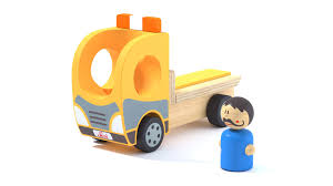 100 3d Tow Truck Games Toy Wood Tow Truck And Character Camion Et Personnage En Bois Free