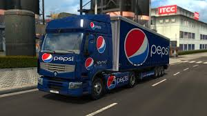 RENAULT PREMIUM PEPSI COMBO V1 | ETS 2 Mods - Euro Truck Simulator ... Uncle D Logistics Pepsi Kenworth W900 Skin Mod American Truck Pepsicola Colctibles Truck Chevrolet By Juliosaez On Deviantart Freight Semi Trucks With Pepsi Logo Driving Along Forest Road Driver Uninjured In Train Crash Biloxi The Sun Herald Pepsico Orders 100 Tesla Semi Trucks Largest Order To Is Rallying After Places An Order For Semis Tsla Auto Remor Srl Mickey Bodies Parade Youtube