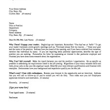 Cover Letter For Graduate School Sample Job Application In