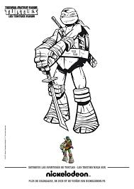 √ Coloriage Tortue Ninja Imprimer