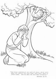 Peter Bible Coloring Pages Image Gallery