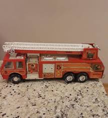 VINTAGE TONKA FIRE TRUCK Engine Ladder Water Cannon #5 CRANK SIREN ... Vintage Tonka Fire Engine Firefighting Water Pumper Truck Red And Spartans Walmartcom Pin By Phil Gibbs On Trucks Pinterest Fire Truck Mighty Motorized Vehicle Kidzcorner Tonka Fire Rescue Truck 328 Model 05786 In Bristol Gumtree Find More Big For Sale At Up To 1960s Tonka My Antique Toy Collection Rescue E2 Ebay Tough Mothers Steel Review Sparkles Diecast