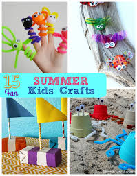 15 Fun Summer Kids Crafts