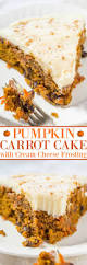 Pumpkin Cake Mix by The Best Pumpkin Carrot Cake With Cream Cheese Frosting Averie Cooks