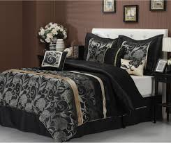 Stylized 5 Piece Twin Rosslyn Black Comforter Set 8 To Precious ... Masculine Comforter Sets Queen Home Design Ideas Rack Targovcicom Bedroom New White Popular Love This Fuchsia Chevron Reversible Microfiber Set By Bedding Delightful Best And Chic Cozy Relaxed And Simple Master Comforters Very Nice Tropical Decor Amazoncom Halpert 6 Piece Floral Pinch 6pc Carlton Navy T3 Z Ebay Down Alternative Homesfeed Stylized 5 Twin Rosslyn Black 8 To Precious