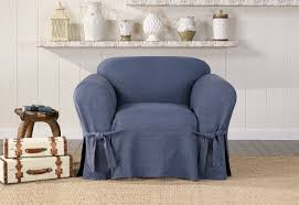 Authentic Denim One Piece Chair Slipcover | SureFit Buy Chair Covers Slipcovers Online At Overstock Our Best Authentic Denim One Piece Wing Slipcover Pleated Drape Leanking Knit Spandex Fabric Stretch Removable Washable Ding Room Home Decor Set Of 4 B Pcs Room Chair Slipcovers And Also Long Ding Covers Serta Relaxed Fit Smooth Suede Fniture 2 Pack Dingparsons Long Skirt White Cotton Marvelous Cisco Brothers Parsons Dning Slip Barn Beyond How To Sew A For The Ikea Henriksdal Bar Pottery Side Loosefit Tie Indigo Surefit Jacquard Damask Shorty Oyster Sf40120 Hampton Bay Spring Haven Cushionguard Midnight Patio 2pack