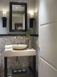 Half Bathroom Ideas With Pedestal Sink by Small Basement Bathroom Designs Cuantarzon Com