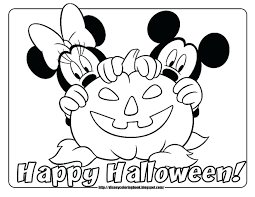 Free Printable Coloring Pages Halloween Pumpkin Pumpkins Beautiful Mickey Mouse Print Full Size
