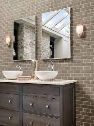 image result for taupe subway tile bathroom backsplash bathrooms