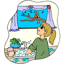 28 Collection Of Washing Dishes Clipart Png