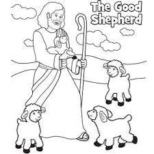 The Good Shepherd Goodshepherd Coloring Bible Cccpinehurstcm Source