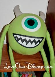 Mike Wazowski Pumpkin Design by Diy Stuffed Monsters Inc Mike With Free Pattern Loveourcrazylife