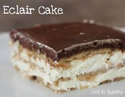 cuisine ch e clair eclair cake chef in