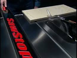 Sawstop Cabinet Saw Australia by Sawstop Cabinet Saw Product Features Youtube