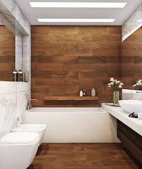 kleines badezimmer fliesen ideen kleine holz optik grosse