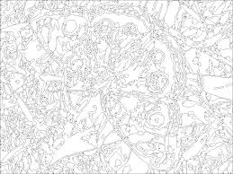 Paint By Numbers Canvas For Adults Elegant Coloring Pages Adult Number Grig3
