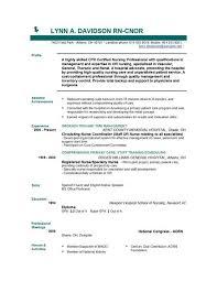 Experienced Rn Resume Sample New Icu Registered Nurse Nursing