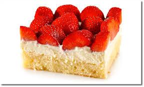 erdbeer kuchen mit vanille creme
