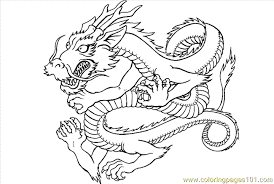 Dragon Coloring Page 16