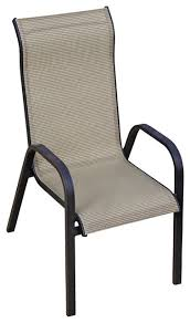 Stacking Steel Sling Patio Chair by Great Stackable Patio Dining Chair Stackable Outdoor Dining Chairs