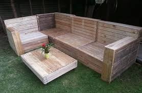 Diy Pallet Garden Couch Table Project Plans Creative