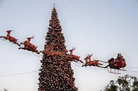 The Christmas Tree Inside Grove Mall On Fairfax
