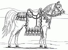 Horse Printable Coloring Pages 18 Kids Archives