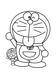 The Coloring Sheet Of Doraemon