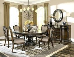 Park Formal Dining Room Set With Round To Oval Table Tables Centerpiece Ideas Centerpieces Rmal Sets