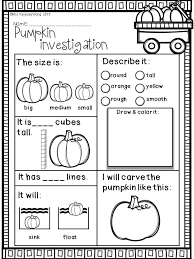Spookley The Square Pumpkin Writing Activities by Download Free Printables At Preview Pumpkin Investigation Fall