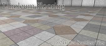 Linoleum Flooring Part1 Square Design View Larger Image