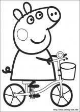 Peppa Pig Pumpkin Carving Ideas by Peppa Pig Coloring Pages On Coloring Book Info
